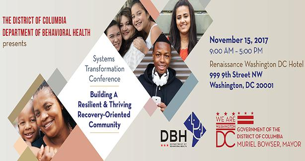 Systems Transformation Conference: Building a Resilient & Thriving Recovery-Oriented Community