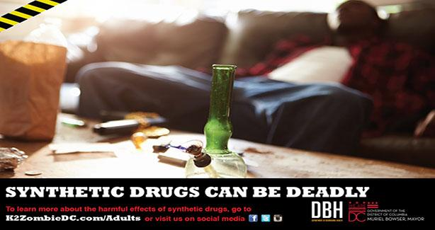 Use of synthetic drugs