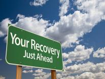 Your Recovery Ahead Billboard